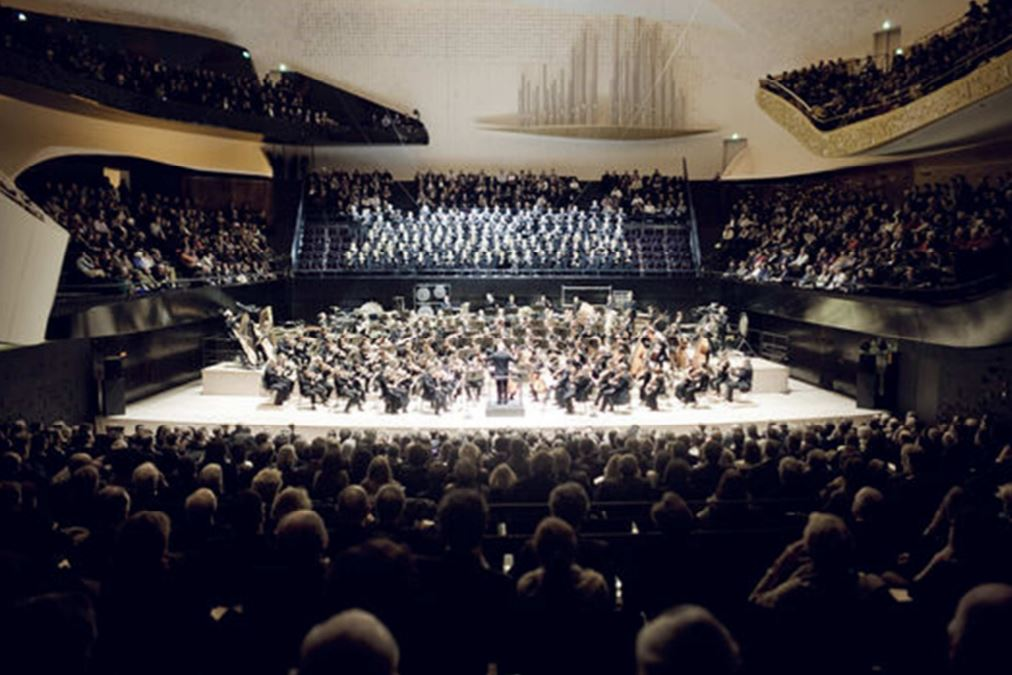 New paris philharmonic hall studio dap
